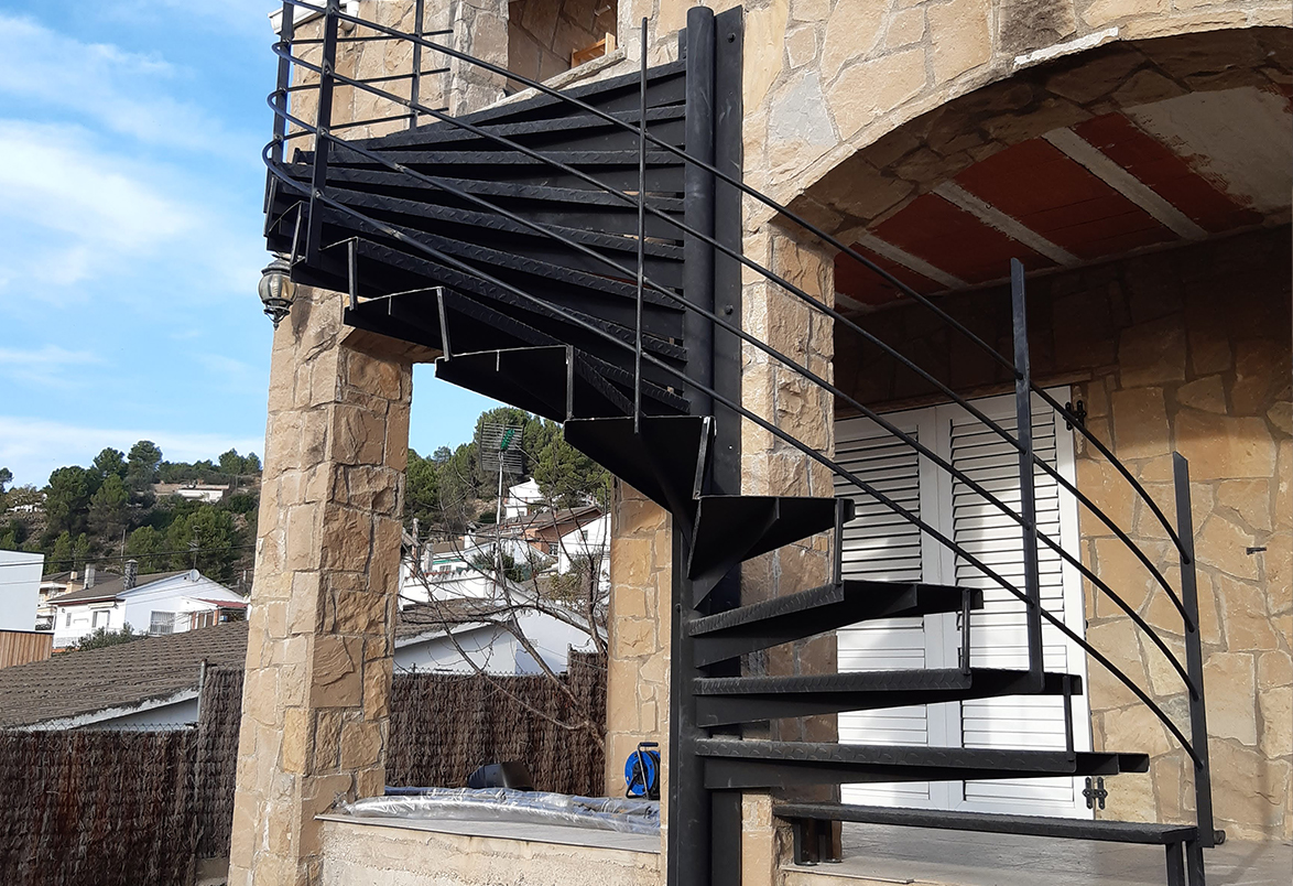 Escaleras de metalister a joan grau - Escaleras para exterior ...